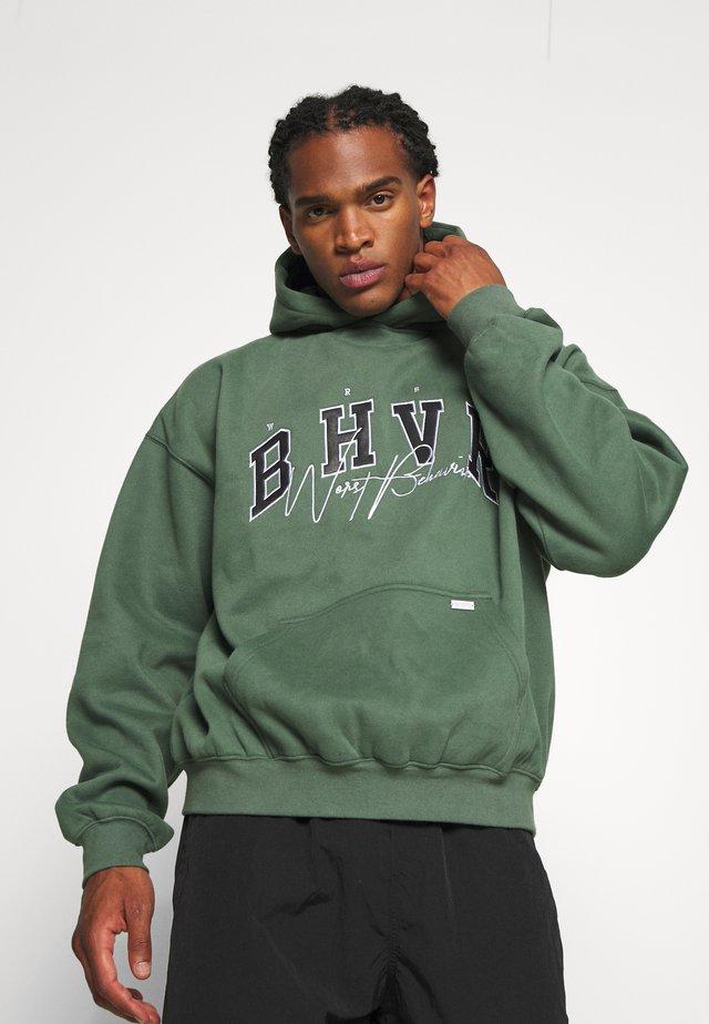 HOODIE CRUSH - Sweatshirt - green