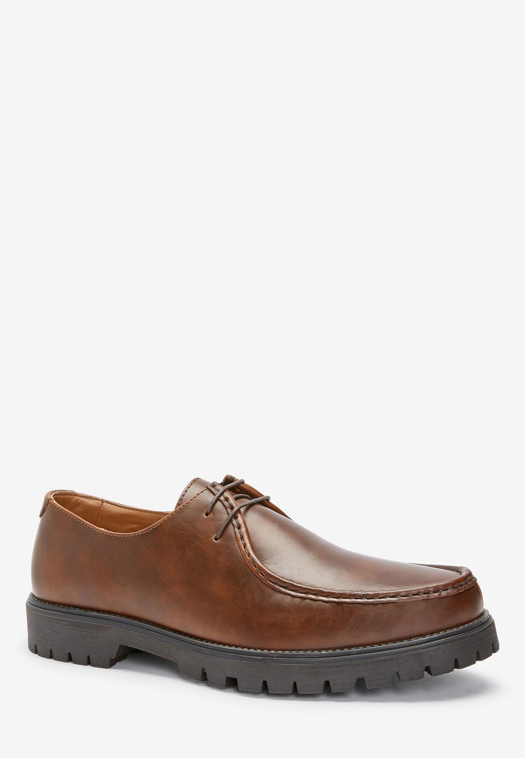 Next Snörskor - brown/brun - Herrskor 6jAfI