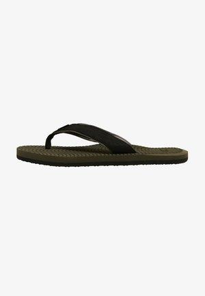 KOOSH - Sandály s odděleným palcem - military green