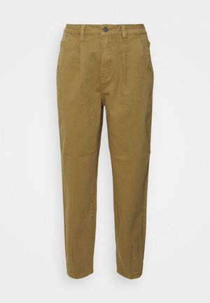 OBJROXANE ANKLE - Straight leg jeans - nutria