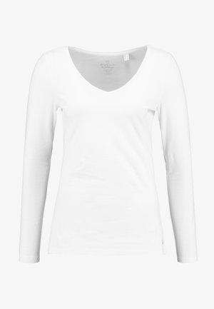 NOOS CORE COO T - Bluzka z długim rękawem - white