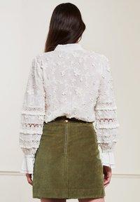 Fabienne Chapot - Button-down blouse - cream white - 1