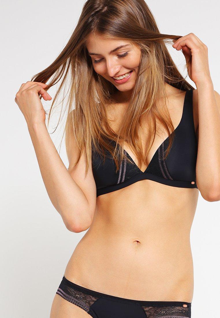 Skiny - DAMEN TRIANGEL GEPADDET - Triangle bra - black