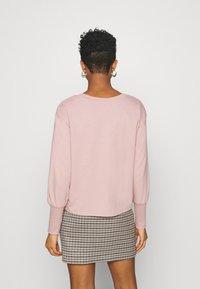 JDY - JDYDESTIN LIFE CUFF  - Sweatshirt - adobe rose - 2