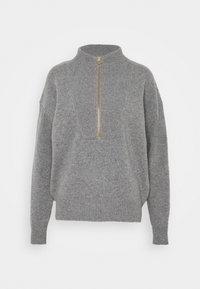 CLOSED - Jumper - grey heather melange - 0