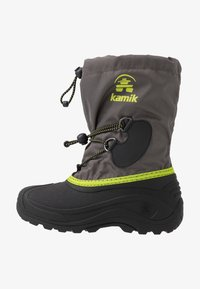 Kamik - SOUTHPOLE4 - Winter boots - charcoal/charbon - 1