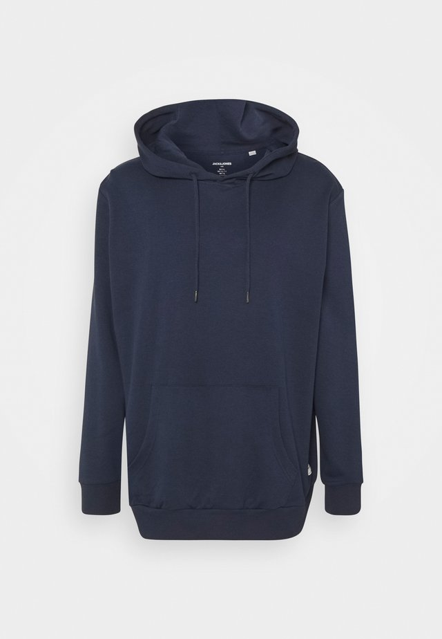 JJEBASIC HOOD - Hoodie - navy blazer