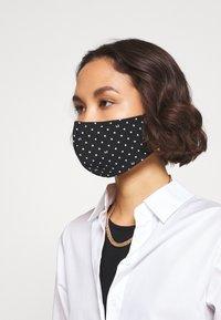LIU JO - KIT MASCHERINA 2 PACK - Maschera in tessuto - cipria - 2