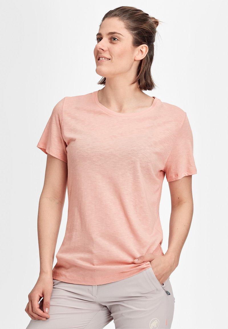 Mammut - Basic T-shirt - powder rose