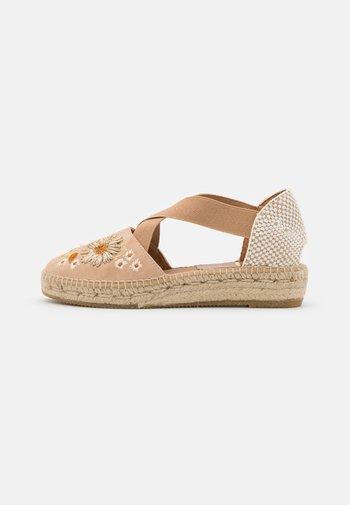 ADA - Korkeakorkoiset sandaalit - beige