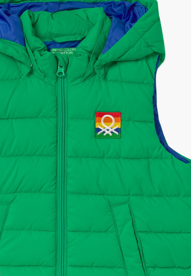 Perseguir Por favor limpiar  Benetton Chaleco - green/verde - Zalando.es