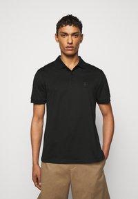 Neil Barrett - TRAVEL ENAMEL BOLT BADGE - Poloshirt - black/silver - 0
