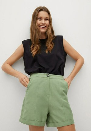LOUISA - Shorts - verde pastello