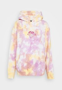 NEW girl ORDER - STRAWBERRY TIE DYE HOODIE  - Jersey con capucha - multicolor - 0