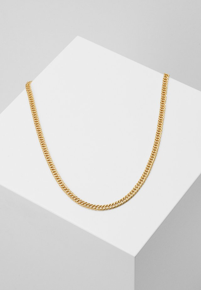FLAT CURB - Necklace - gold-coloured