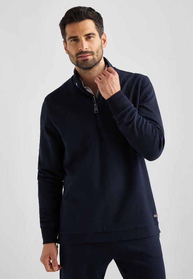 TROYER SARINO - Sweater - marine blau