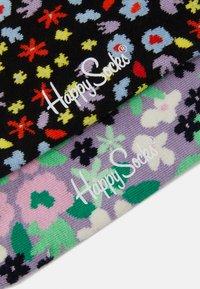 Happy Socks - FLOWER SOCK UNISEX 2 PACK  - Socks - multi - 2