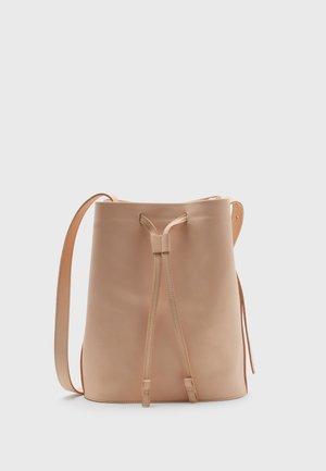 Across body bag - natural