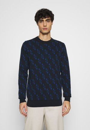ALL OVER GEO - Jumper - dark navy