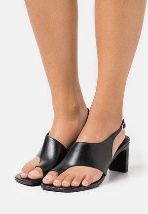 LUISA - Sandals - black