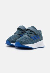 adidas Performance - RUNFALCON I UNISEX - Neutrální běžecké boty - legend blue/royal blue/signal green - 1