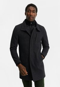 WE Fashion - Classic coat - dark grey - 0