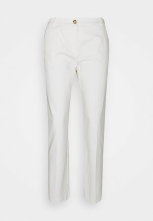 BELLO PANTALONE STRETCH - Trousers - bianco meringa