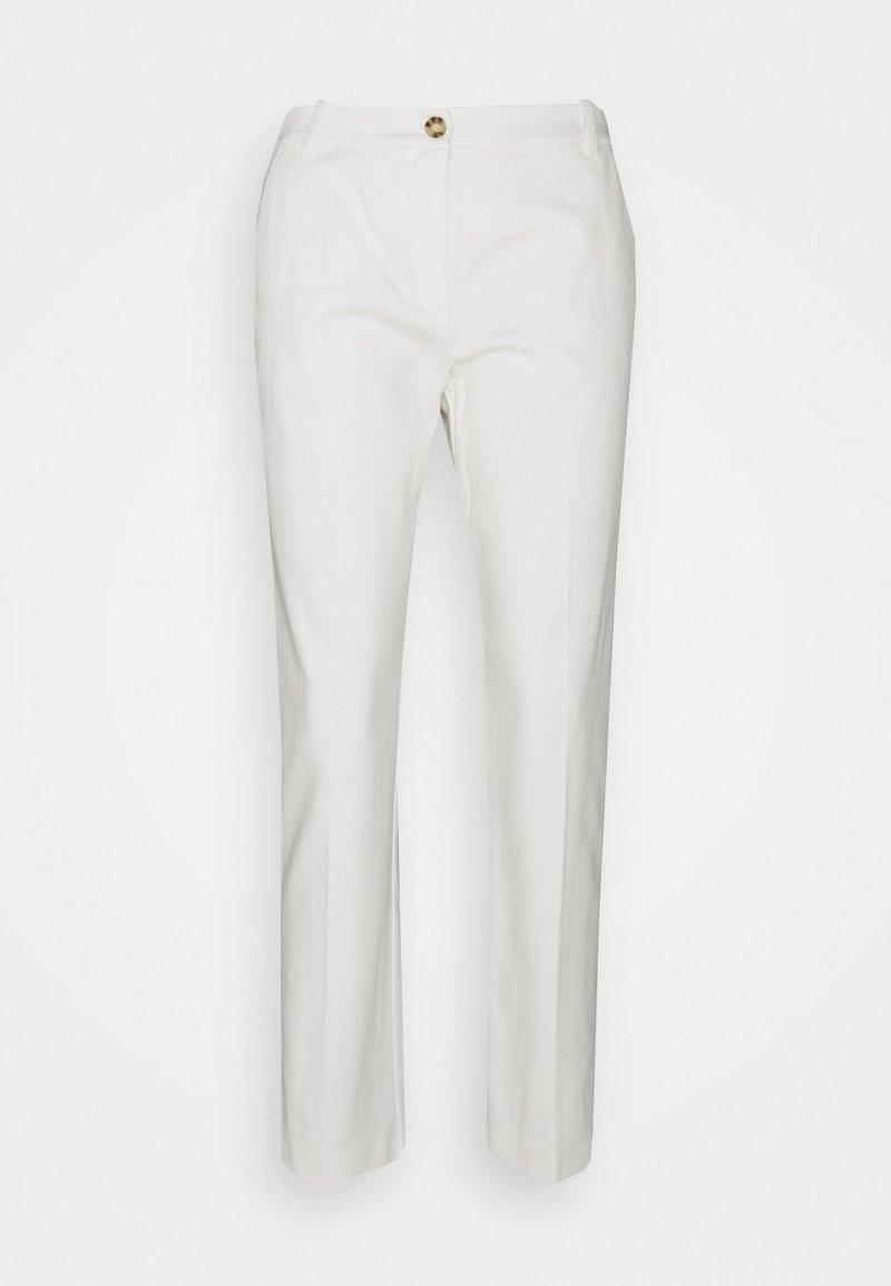 Pinko - BELLO PANTALONE STRETCH - Pantalon classique - bianco meringa