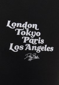 Daily Basis Studios - CITY TEE UNISEX - Print T-shirt - black - 2