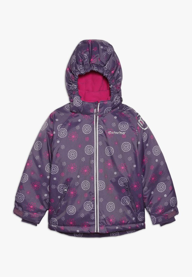 SNOW JACKET OXFORD GIRL SHAPE - Vinterjacka - loganberry