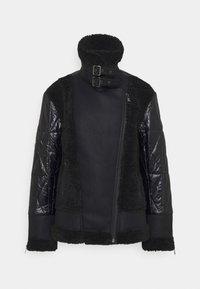 KARL LAGERFELD - BIKER JACKET - Light jacket - black - 0