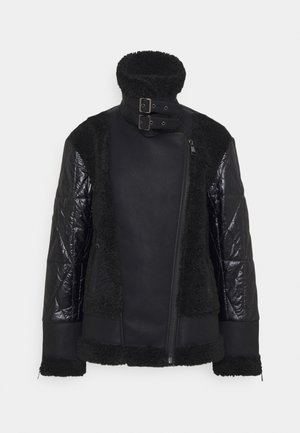 BIKER JACKET - Light jacket - black