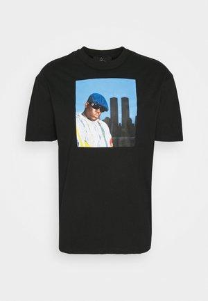 BIG KING - T-shirt med print - black