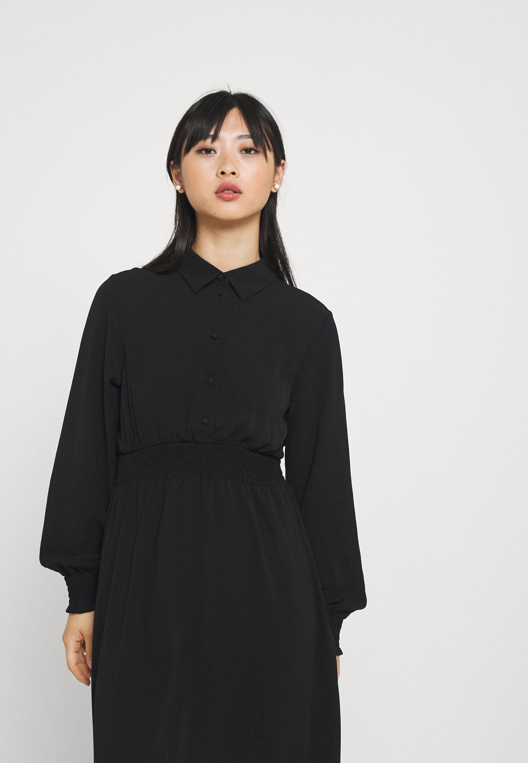 Donna VMSAGA SMOCK CALF DRESS - Abito a camicia