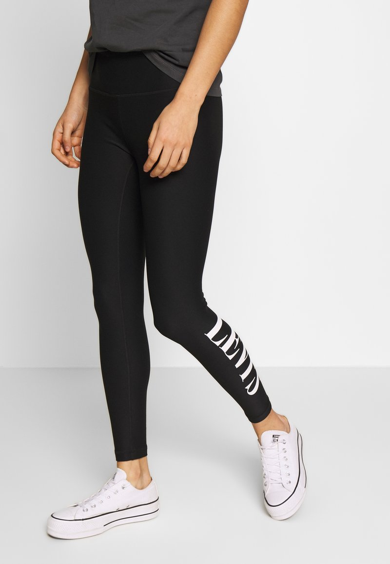 Levi's® - Leggings - Trousers - logo legging mineral black mineral black