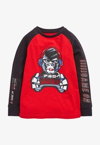 Next - GORILLA GAMER  - Long sleeved top - red - 0