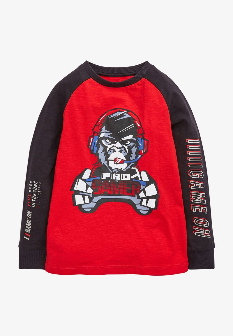 Next - GORILLA GAMER  - Long sleeved top - red