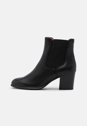 MAZE - Støvletter - creamy black