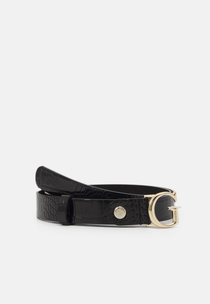 Guess - CORILY ADJUSTABLE PANT BELT - Pásek - black