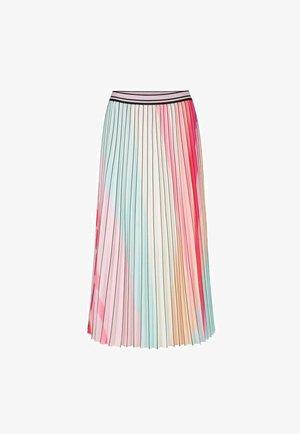 MIT PLISSEES - A-line skirt - multi-coloured
