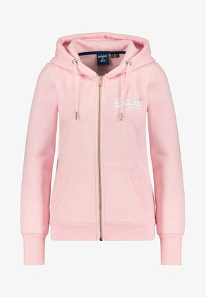 VL NYC PHOTO - Zip-up hoodie - rosa
