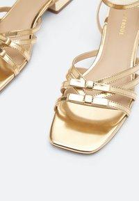 Uterqüe - Sandals - gold - 5