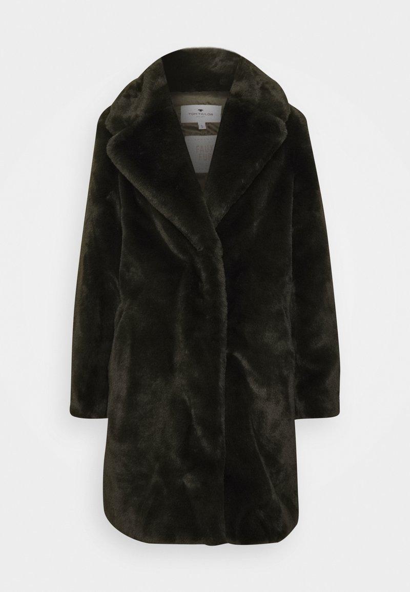 TOM TAILOR - Winter coat - dark rosin green