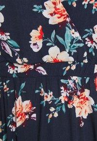 VILA PETITE - VIMESA WRAP DRESS - Maxi dress - navy blazer - 2