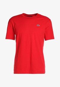 Lacoste Sport - HERREN - Basic T-shirt - red - 4