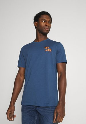 ALEX PRINT - Print T-shirt - ensigne blue