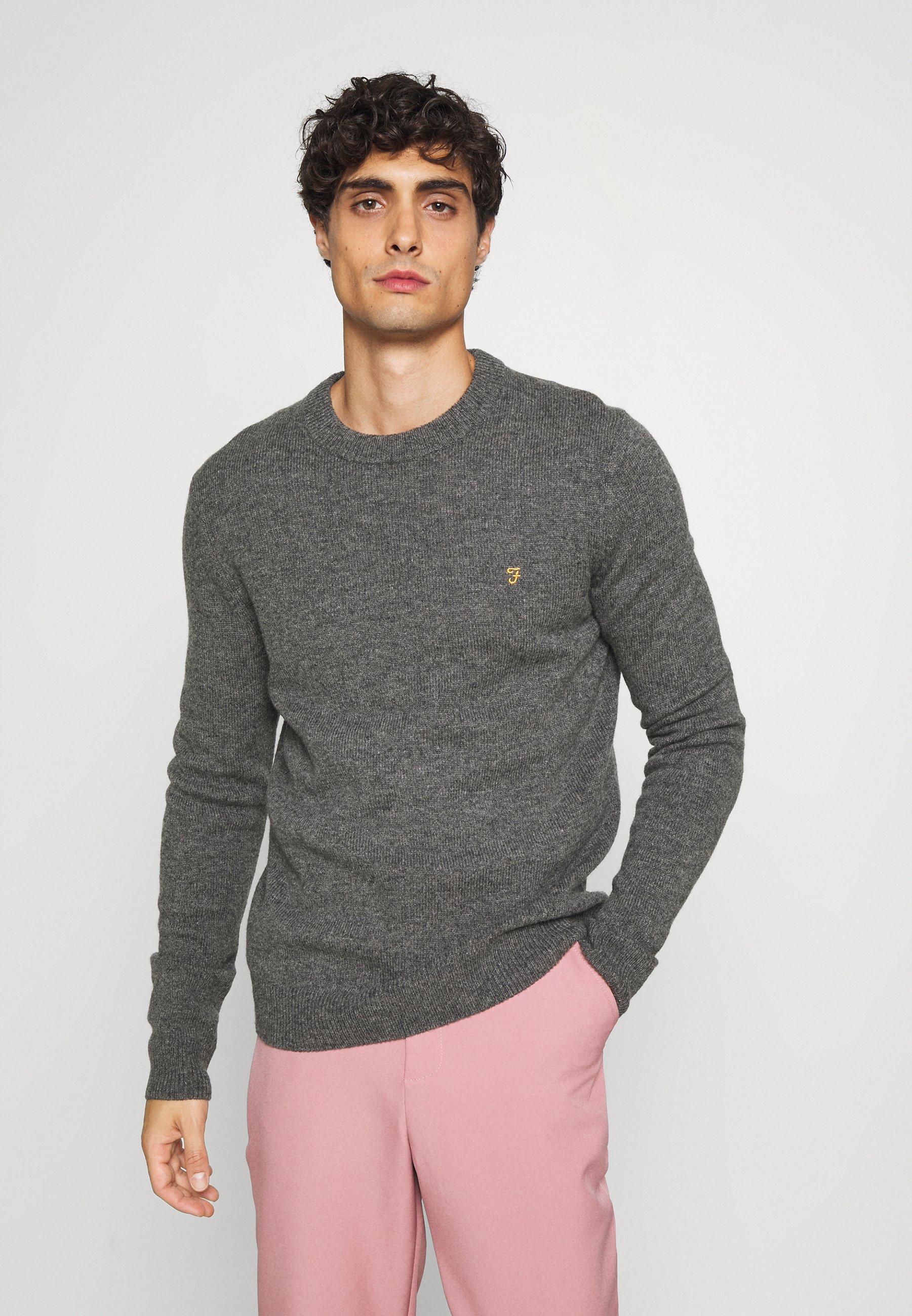 Homme BIRCHALL CREW - Pullover