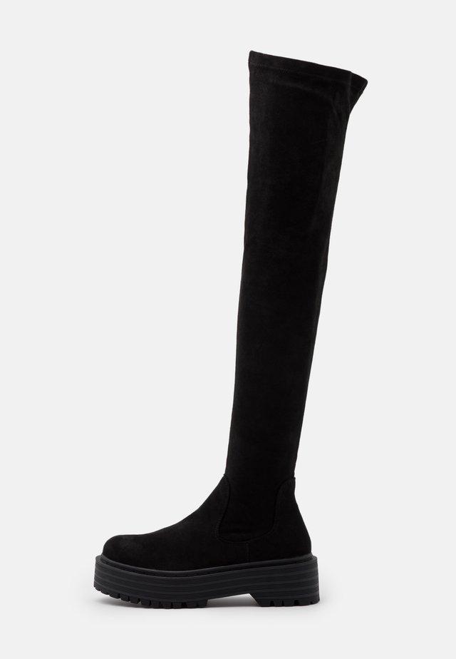 RANGER - Over-the-knee boots - black