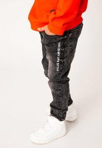 Gulliver - Slim fit jeans - grey denim - 1