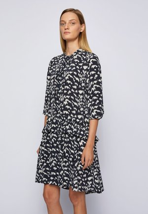 Shirt dress - patterned